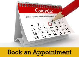 Click to Book your appointment online